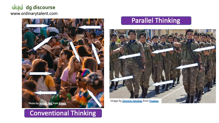 Conventional Vs Parallel Thinking